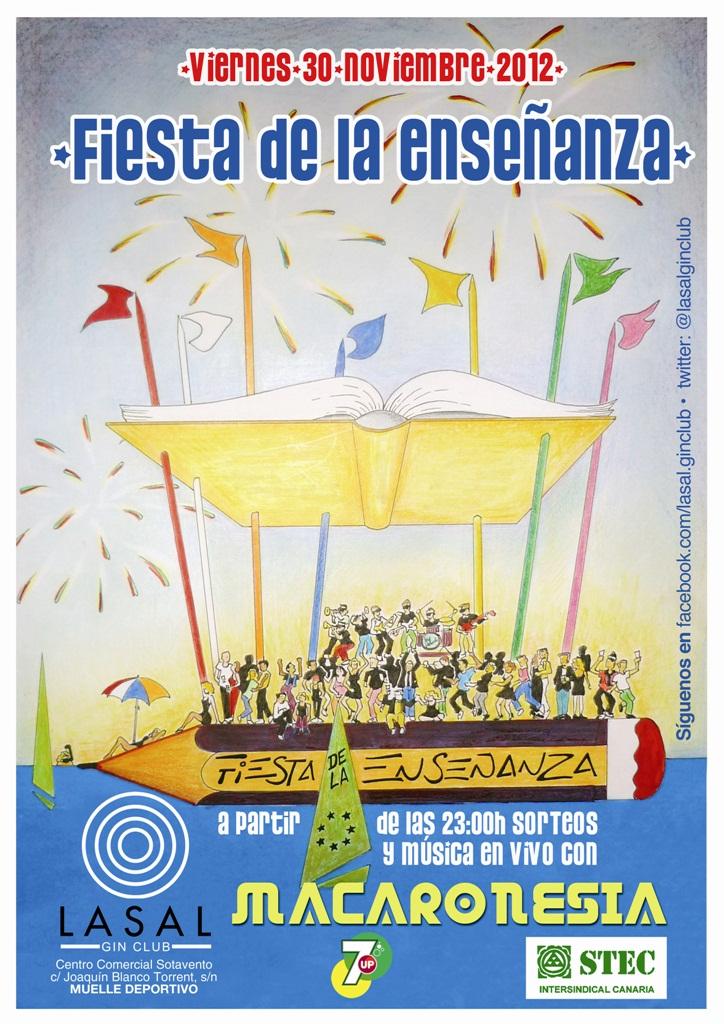 Fiesta de la Enseñanza 2012 (Gran Canaria)