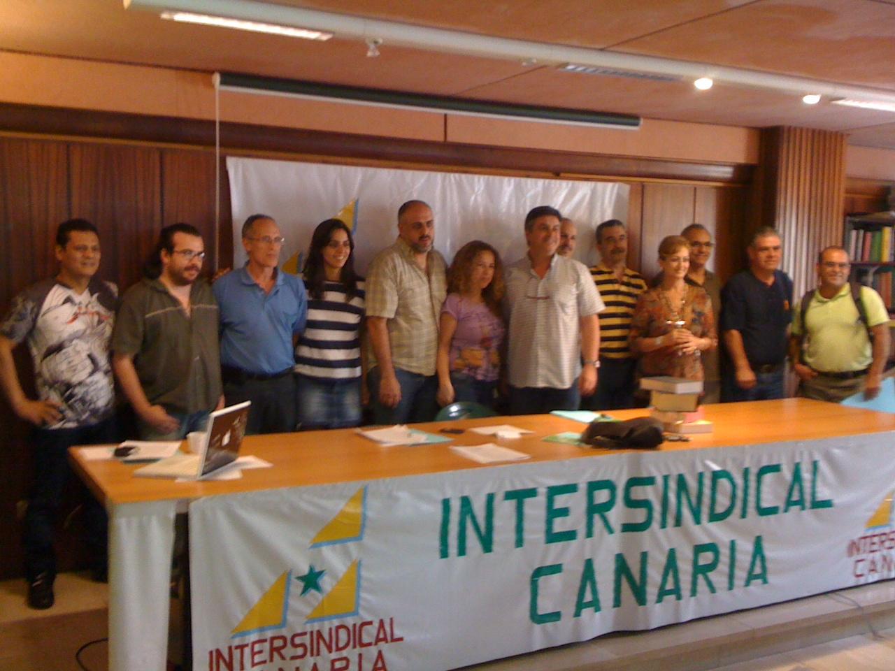 Resultado de imagen de intersindical Canaria