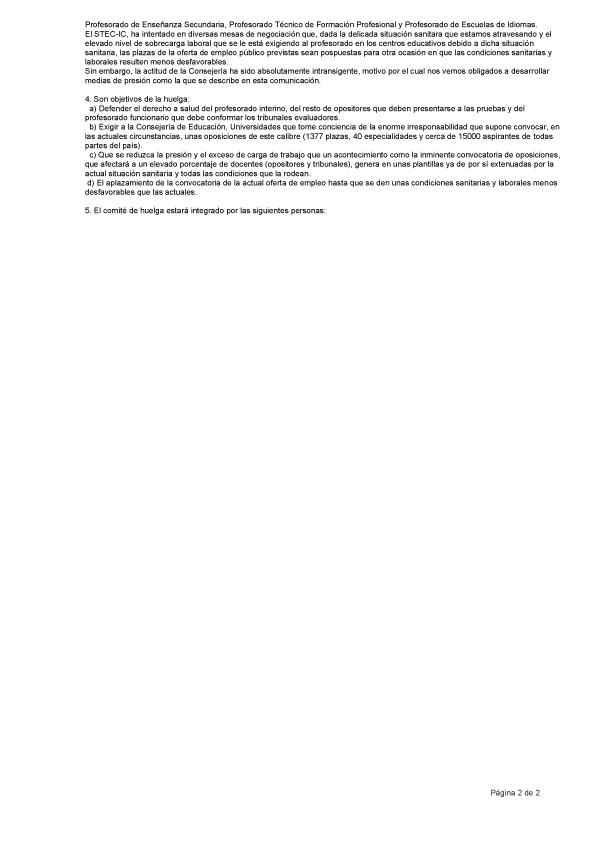 Preaviso de Huelga - Pag 2