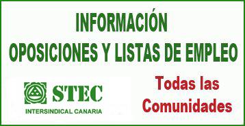 Información Oposiciones y Listas de Empleo