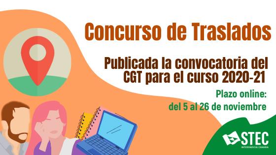 Concurso de Traslados 2020-2021