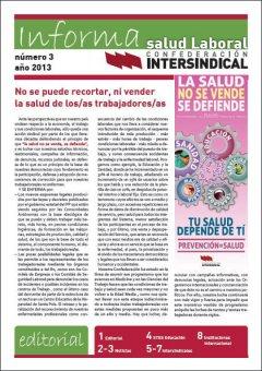 Revistas Informa de Salud Laboral Números 1, 2 y 3