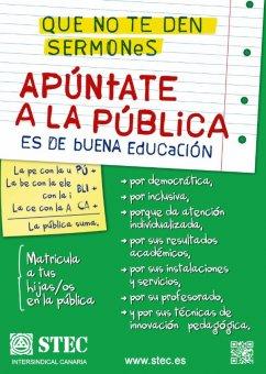 Apertura del periodo de admisión de alumnos en Infantil y Primaria curso 2014-2015. ¡Apúntate a la Pública!