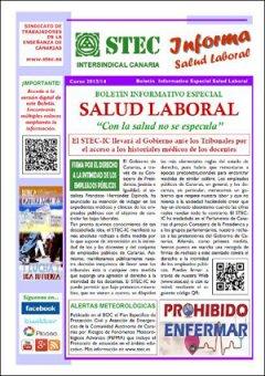 Boletín Especial Salud Laboral con toda la información sobre descuentos por baja o ausencia