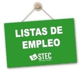 Orden de 25 de abril de 2014 sobre pruebas para la constitución de las nuevas Listas de Empleo