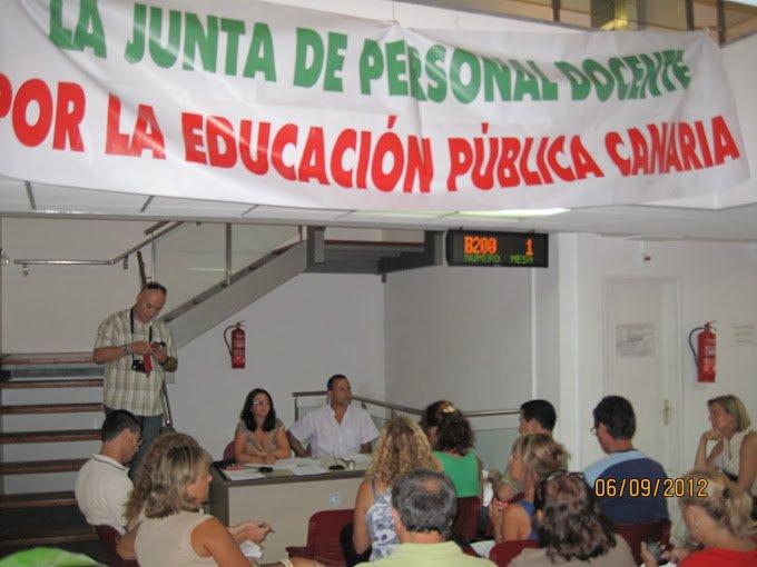 El Pleno de la la Junta de Personal de Las Palmas se reunió para valorar el curso