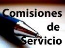 Listas provisionales Comisiones de Servicio y plazo reclamaciones y renuncias