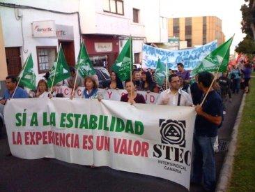 La Ley Canaria de Educación garantizará la estabilidad laboral al profesorado interino mayor de 55 años