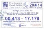 Loter�a de Navidad STEC-IC 2014