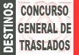 Borrador convocatoria Concurso General de Traslados