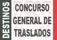 Convocatoria del Concurso de Traslados 2014-2015