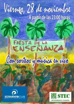 La Fiesta de la Enseñanza en GC se celebrará en la Terraza SOTAVENTO