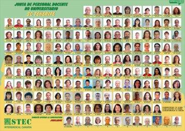 Candidatura del STEC-IC en la provincia de SC de Tenerife