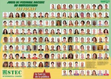 Candidatura del STEC-IC en la provincia de Las Palmas