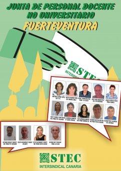 Candidatos/as de la isla de Fuerteventura