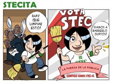 STECITA lo tiene claro: ¡Juntos barreremos los recortes!
