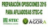 Cursos de preparaci�n oposiciones para afiliados al STEC-IC