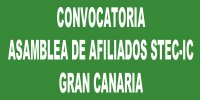 Convocatoria Asamblea Insular de afiliados/as del STEC-IC en Gran Canaria