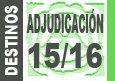 Plazos solicitud Adjudicaci�n Provisional de destinos 2015-2016