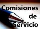 Normativa reguladora de las Comisiones de Servicio