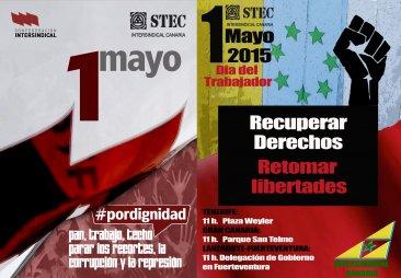 1 mayo: Pan, Trabajo, Techo y Educaci�n
