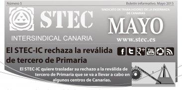 Bolet�n Informativo mayo
