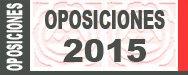 Nuevos anexos para las oposiciones 2015