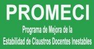 Adjudicación provisional PROMECI 2015