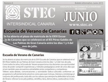 Boletín Informativo junio