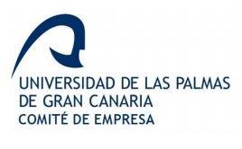 Acuerdos del Comité de Empresa de la ULPGC y la Gerencia Universitaria