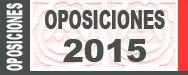 Listas definitivas aspirantes admitidos oposiciones 2015 con fecha y lugares presentación y primer examen