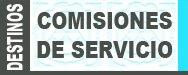 Listado provisional Comisiones de Servicio curso 2015-2016