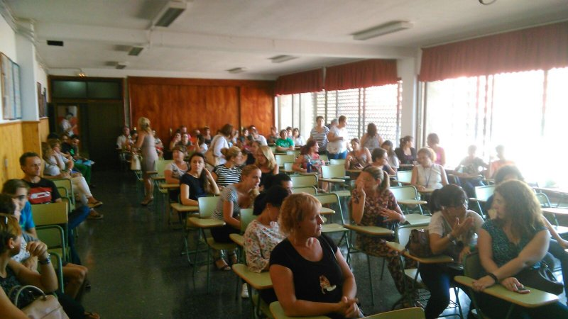 El STEC-IC con la Comunidad Educativa del IES Roque Amagro