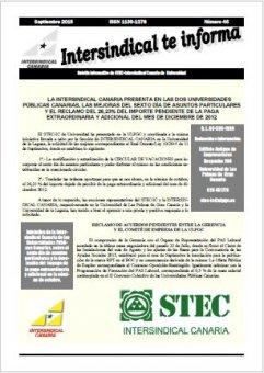 El STEC-IC reclama mejoras en las universidades canarias