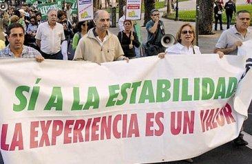 Proposición No de Ley para excluir a los docentes del decreto 74/2010 de Listas de Empleo
