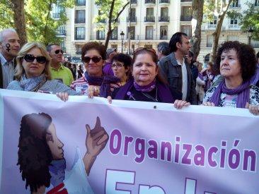 El STEC-IC en la marcha contra las violencias machistas del 7N