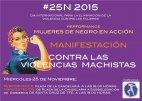 Actos Foro Contra la Violencia de G�nero de Tenerife