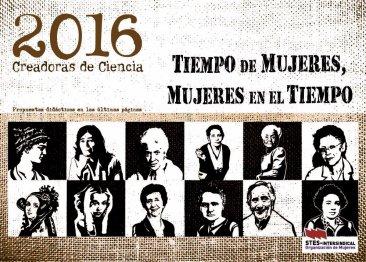 Calendario de Mujer 2016. Creadoras de Ciencia.