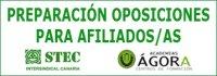 Preparación oposiciones 2017 para afiliados al STEC-IC