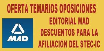 Temarios de oposición con descuentos para la afiliación