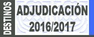 Información segunda mesa técnica Adjudicación de Destinos 2016/2017