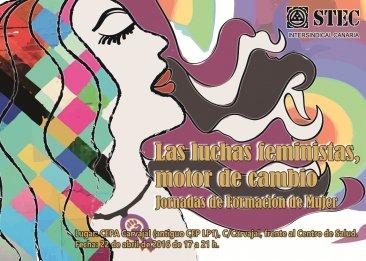 El próximo viernes se celebrarán las IV Jornada de Mujer del STEC-IC