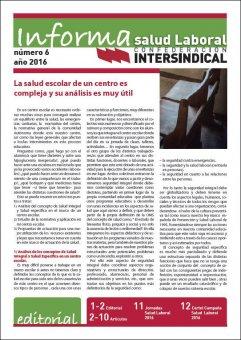 Revista Informa de Salud Laboral nº 6