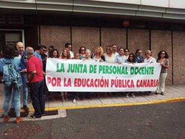 Las Juntas de Personal exigen mejoras para la Educación Canaria