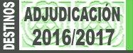 Adjudicación Provisional destinos 2016/2017. Cuerpo de maestros/as