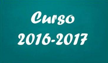 Resolución organización y funcionamiento curso 2016-2017