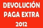 La Consejería abonará en breve la parte proporcional de la paga extra de 2012