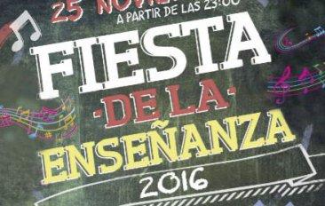 El viernes 25 de noviembre se celebrará la Fiesta de la Enseñanza 2016