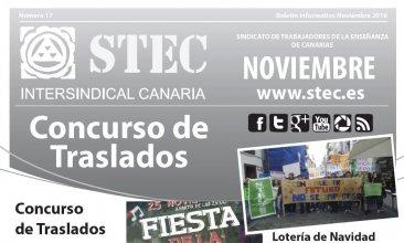 Boletín informativo noviembre 2016