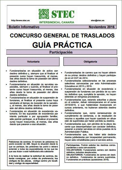 Stec ic gu a pr ctica del stec ic para el concurso de for Concurso de plazas docentes 2016